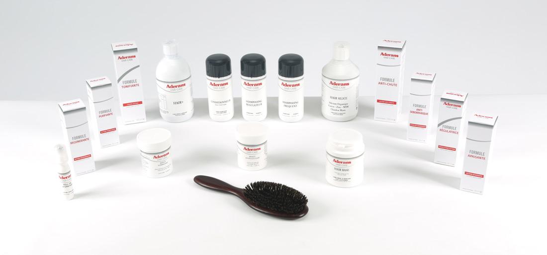 Le traitement des cheveu avec les vitamines dans les capsules